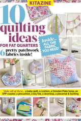 Quilting kit cover with 10 quilting ideas