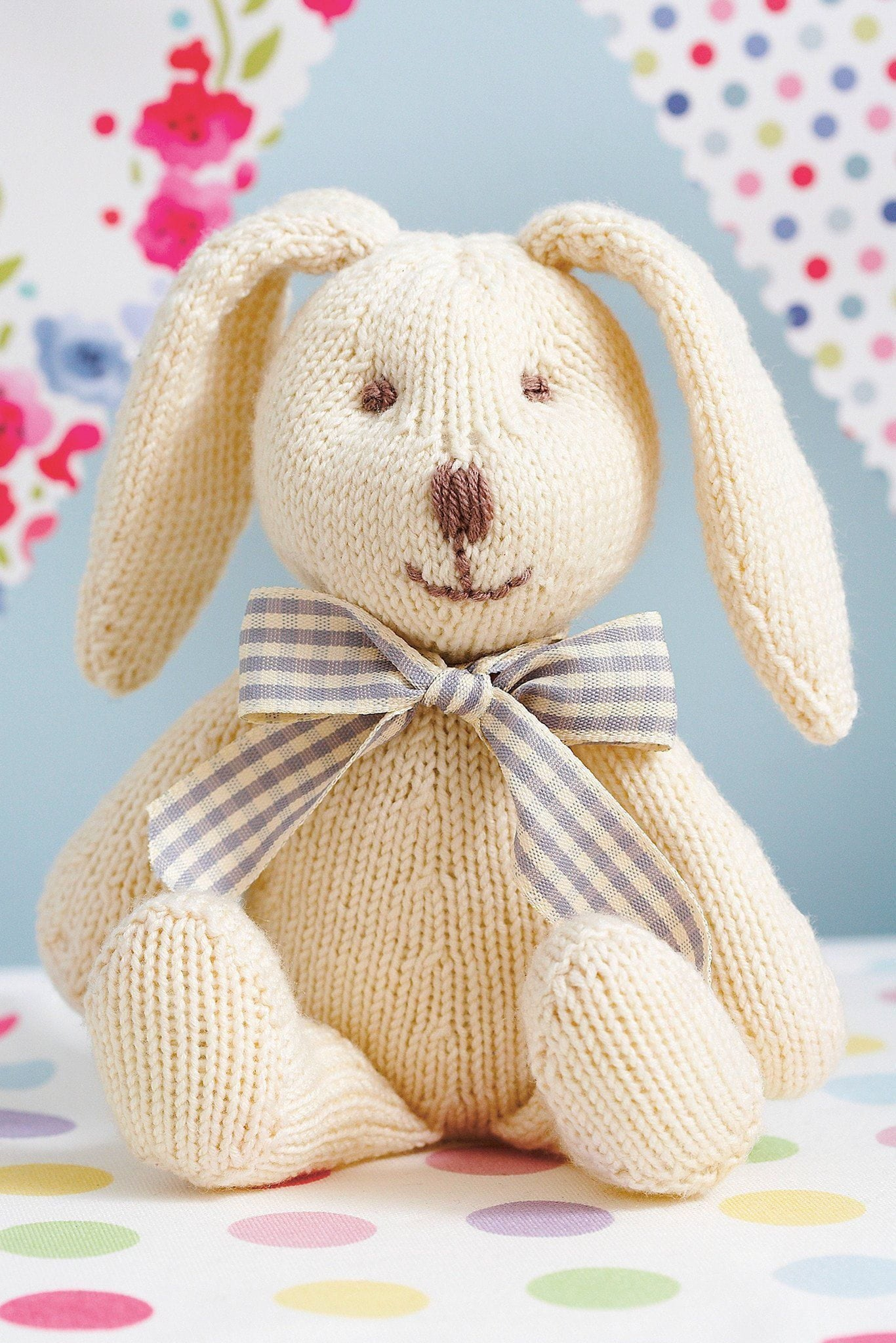Rabbit knitting pattern the knitting network rabbit knitting pattern dt1010fo