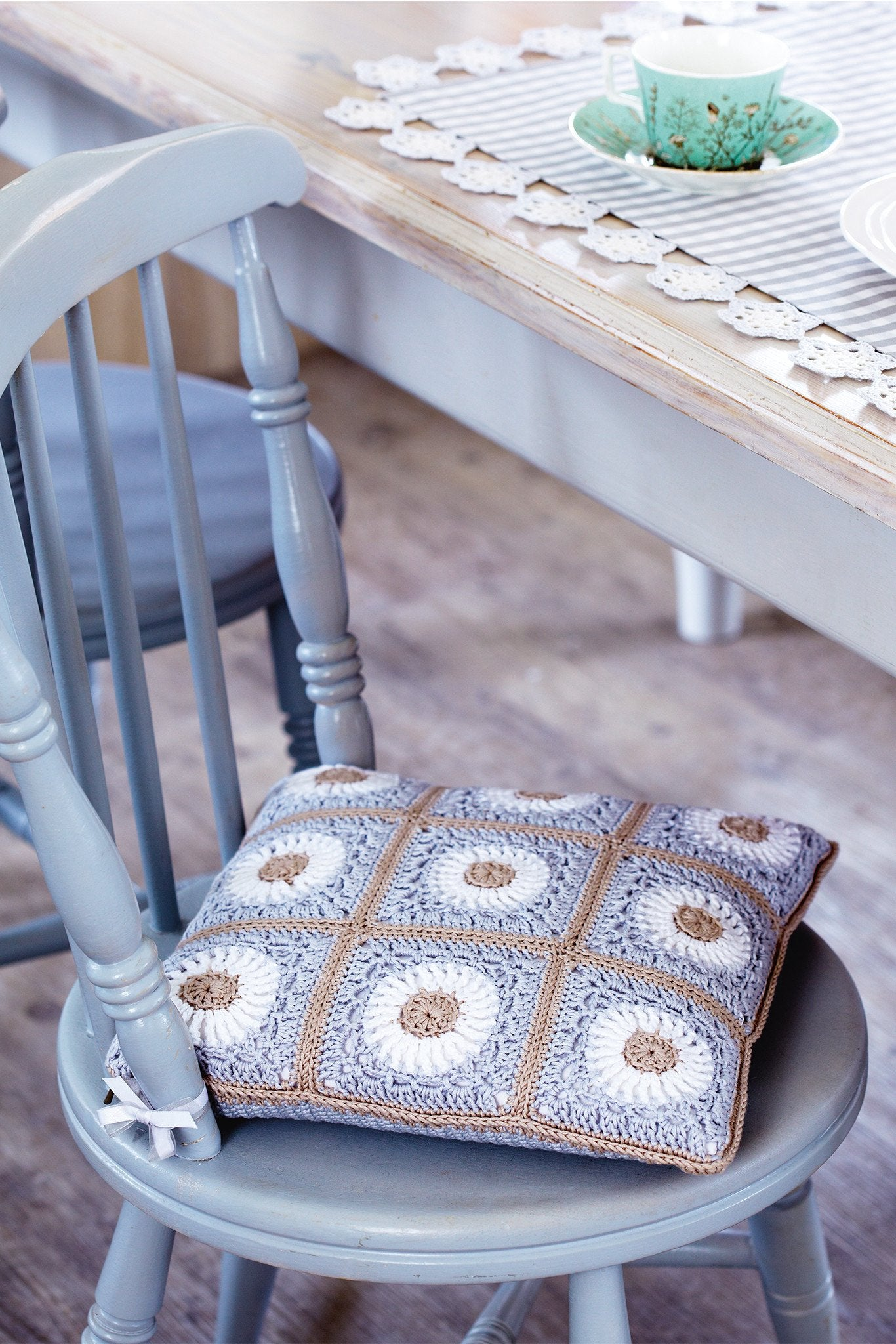Seat Cushion Cover Crochet Pattern – The Knitting Network