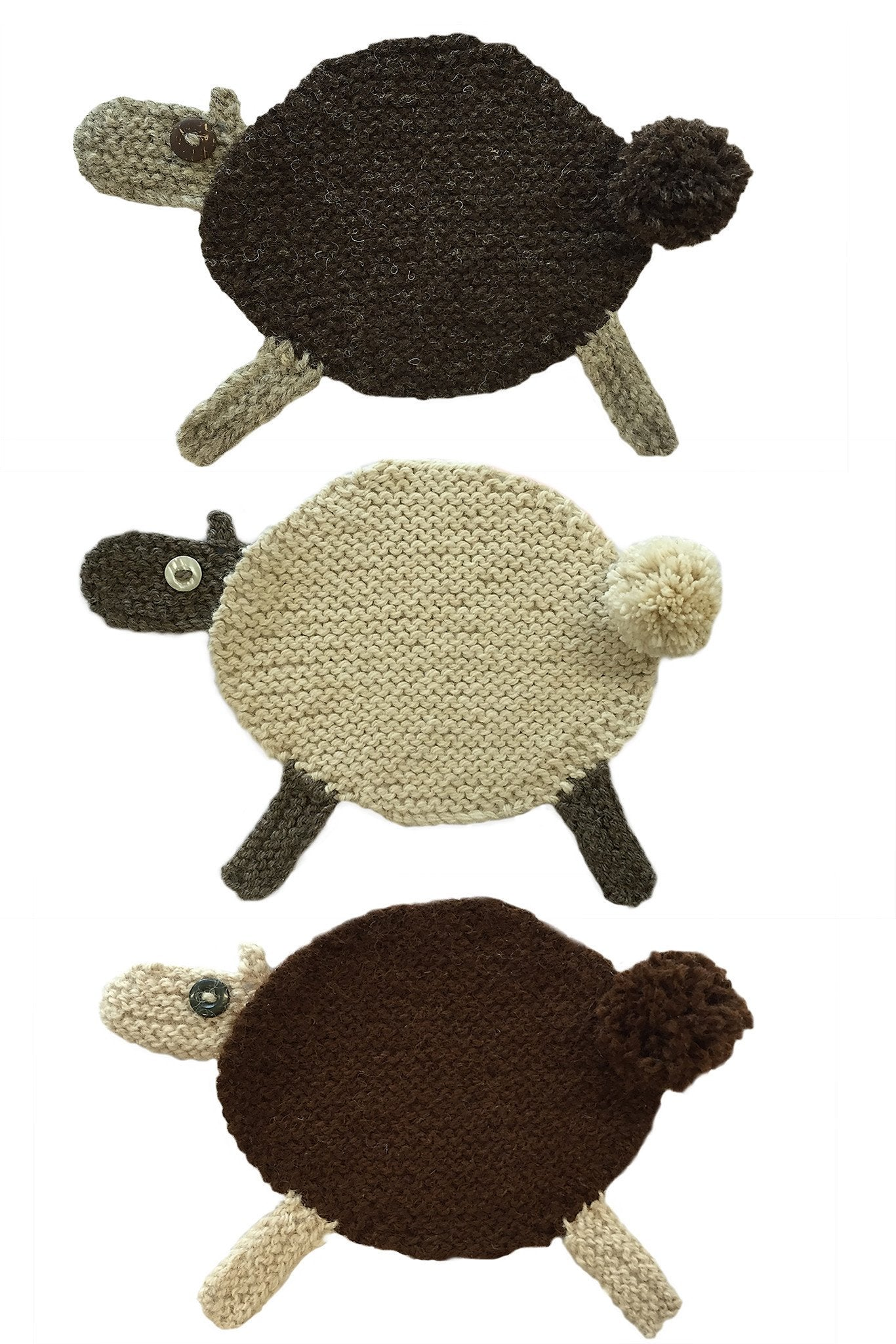 Sheep coaster knitting pattern the knitting network sheep coaster knitting pattern bankloansurffo Gallery