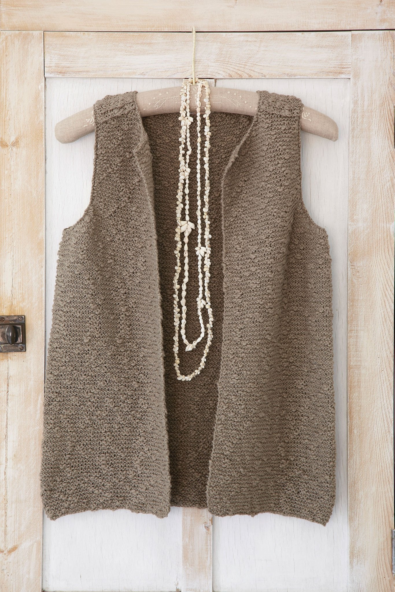 Free Knitting Pattern For A Gilet : Simple Ladies Gilet Knitting Pattern   The Knitting Network