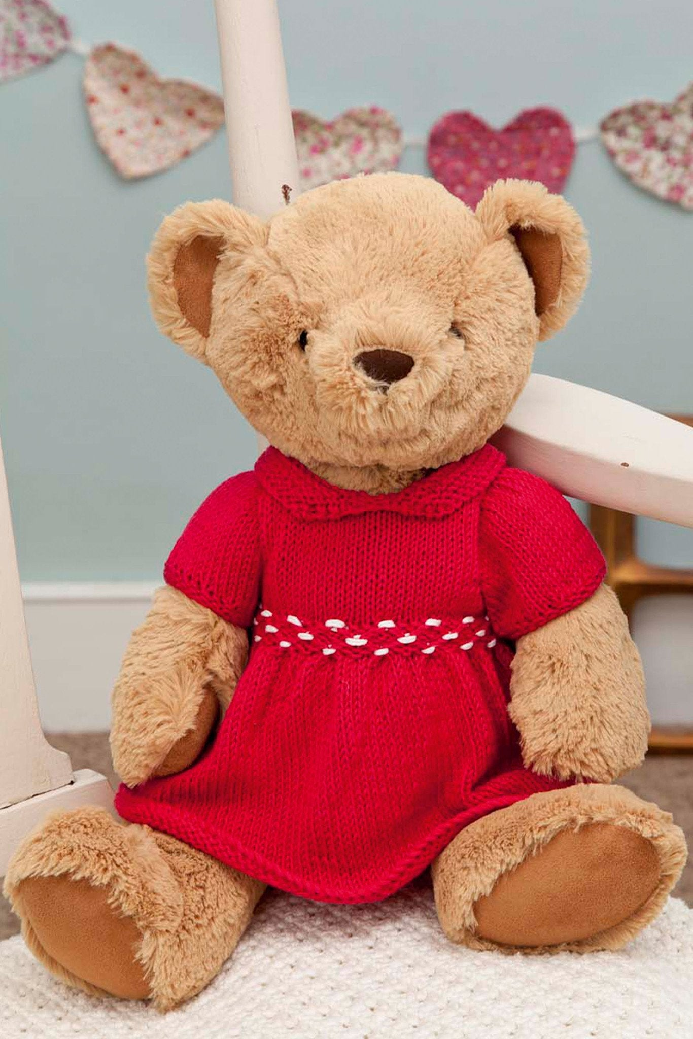 Vintage Teddy Clothes Dress And Pants Knitting Patterns – The ...
