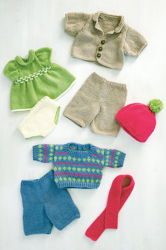 Knitting Networkcouk Freebie : Teddy outfits knitting patterns the network