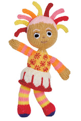Knitted Upsy Daisy toy