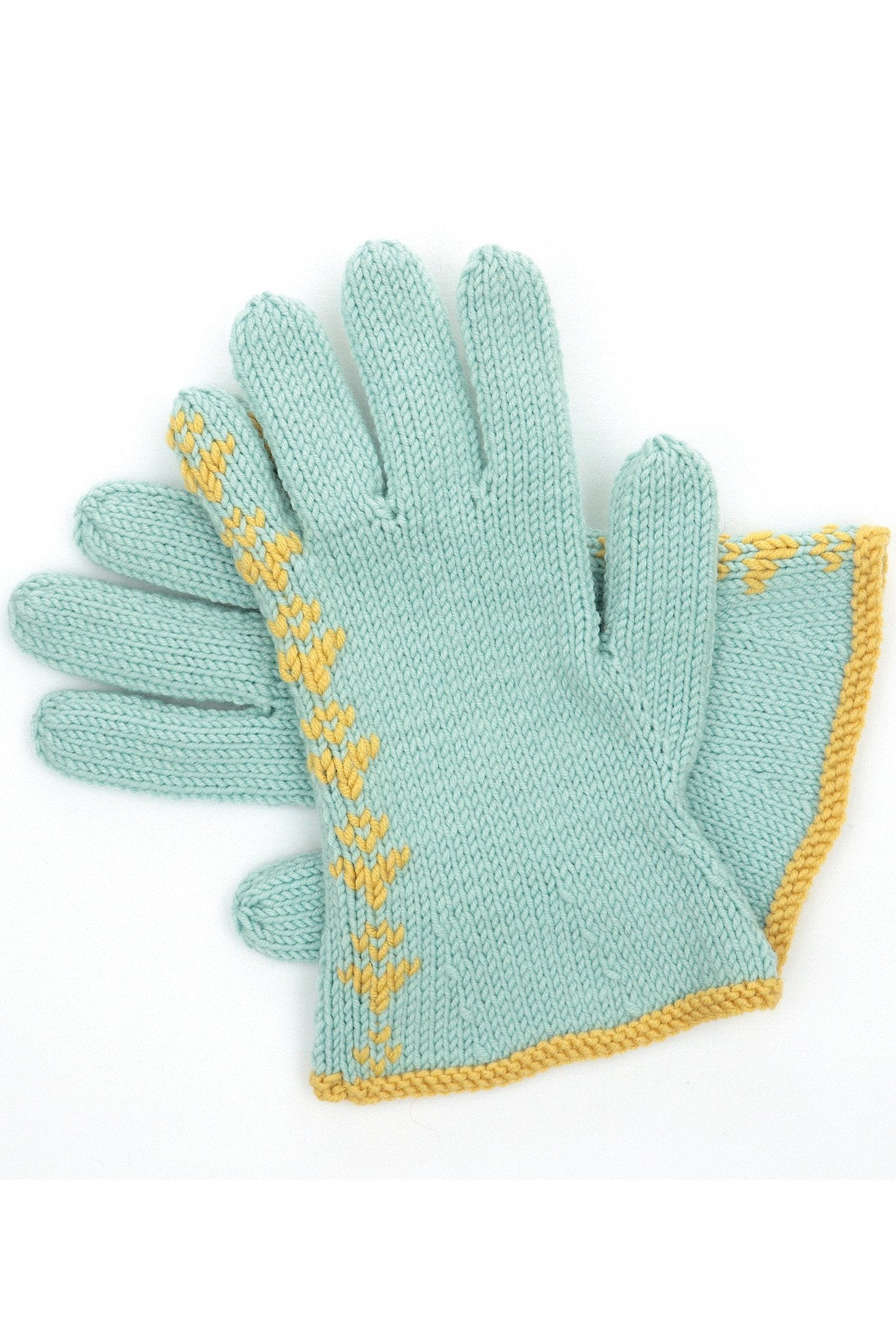 Knitting Network Stickman : Vintage gloves knitting pattern the network
