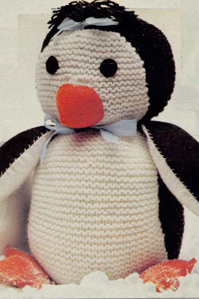 Vintage Penguin Toy Knitting Pattern   The Knitting Network