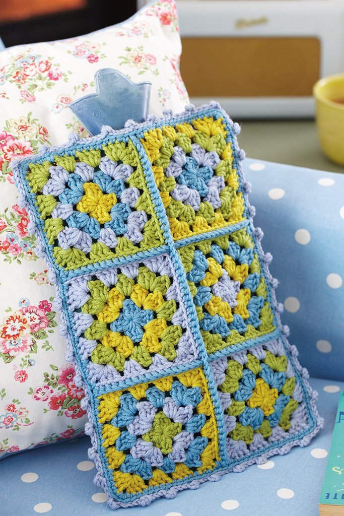 Vintage Style Hot Water Bottle Cover Crochet Pattern The Knitting