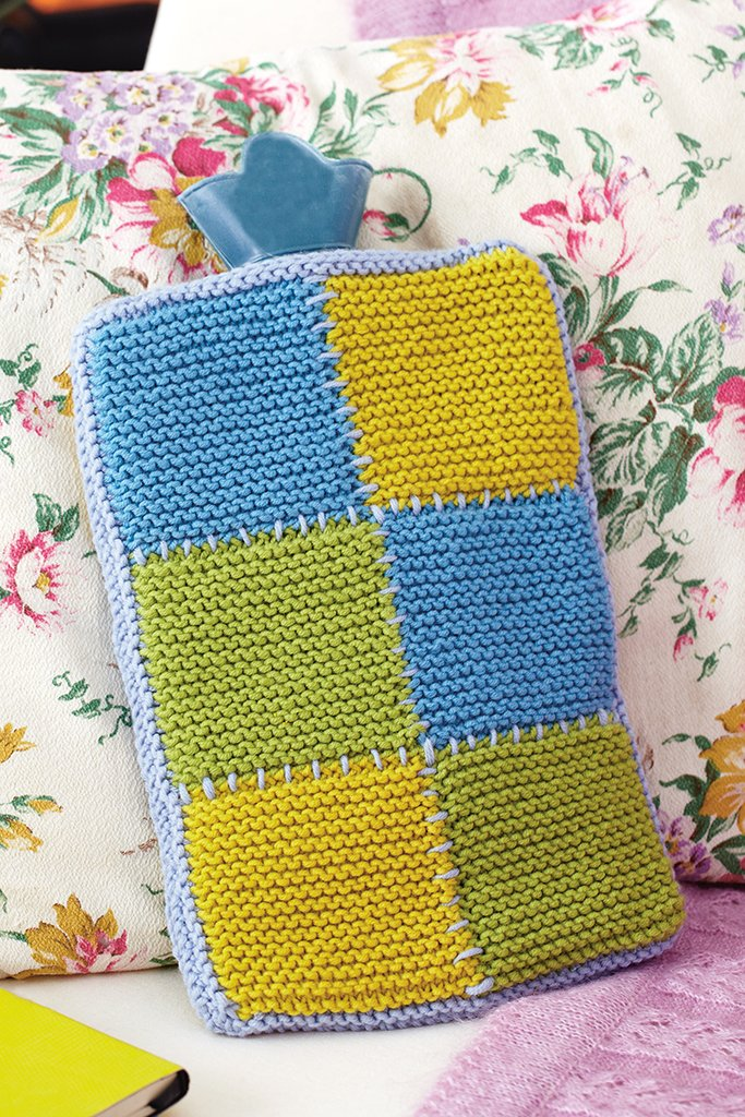 Vintage Style Hot Water Bottle Cover Knitting Pattern The Knitting