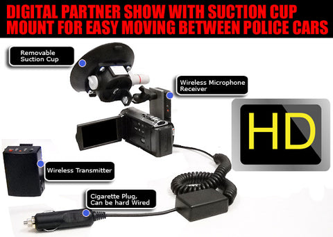 HD Police Dash camera system Digital Partner