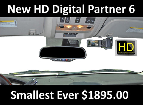 Digital Partner -  Martel Video's Versatile Police Dash Video Camera System - MartelVideo Police Car Cameras