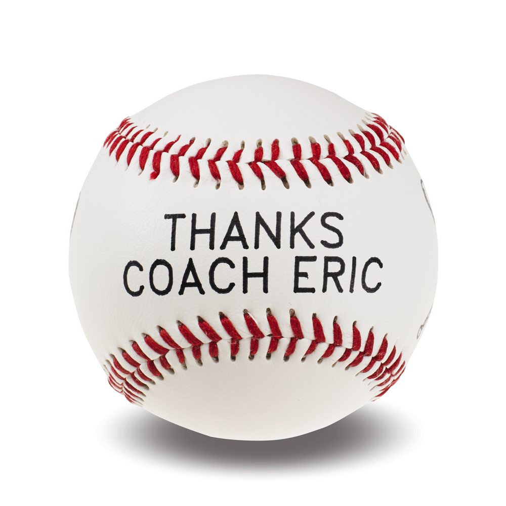Personalized Baseball | Thanks Coach