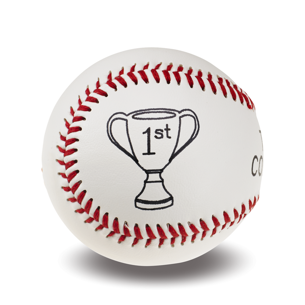 Custom Baseball | Trophy Graphic