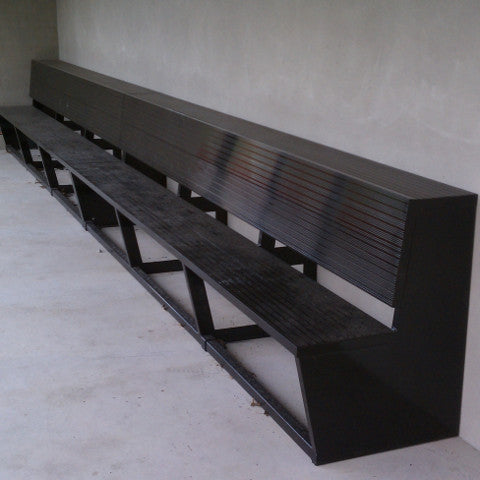 Aluminum Two-Tier Team Bench
