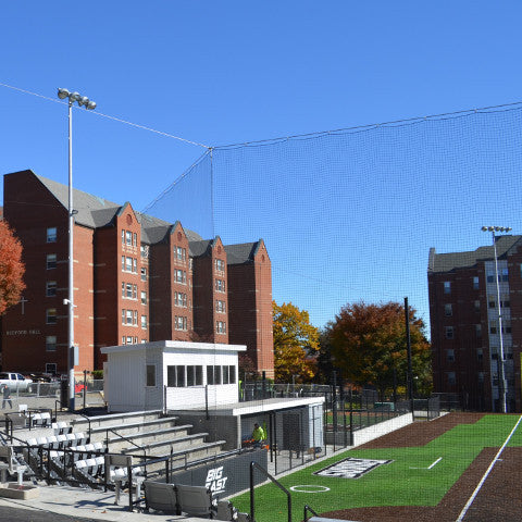Baseball / Softball Tie-Back Tension Backstop Netting System