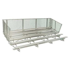 5-Row Portable Bleachers - SSI Direct