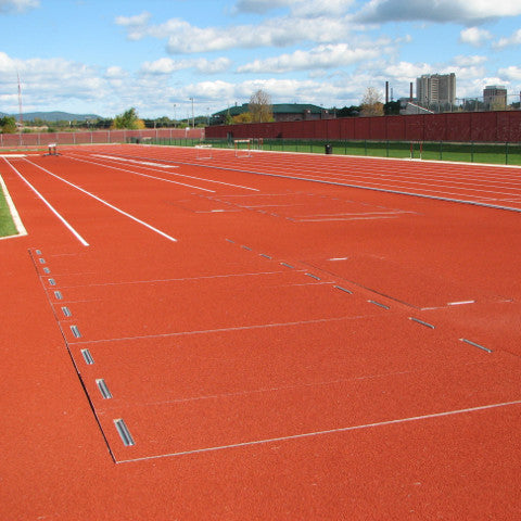 Long/Triple Jump Aluminum Sand Pit Covers