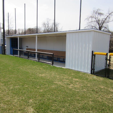 Enclosed Modular Dugout Ball Field Dugouts Sportsfield