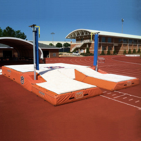 "International Pole Vault Landing System; 21'-6"" x 27' x 32"""