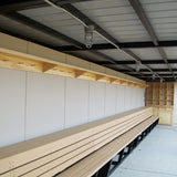 Premium Bat & Helmet Storage Unit