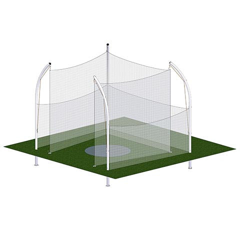 Shot Put Throw Cage