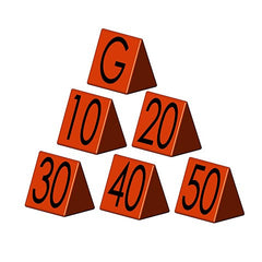 Football Sideline Yardage Markers - SSI Direct