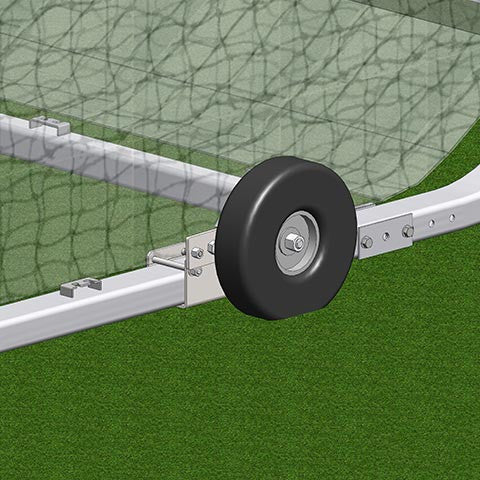 Soccer Goal External Wheel Kit