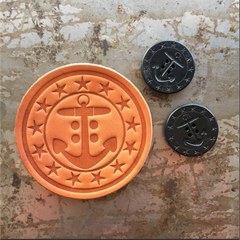 Artifact Handmade Leather Drink Coasters