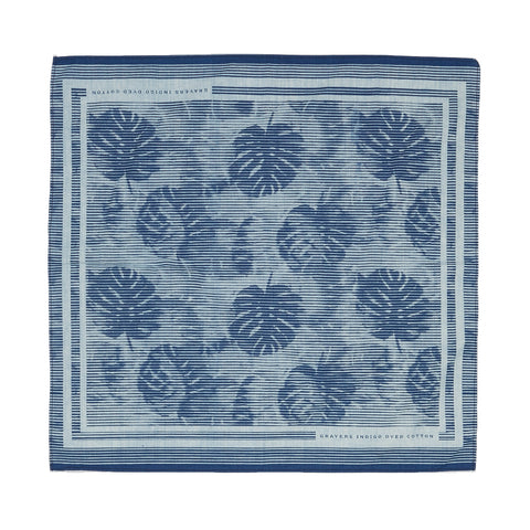 Paisley Indigo Print 3-ply Face Mask - Pack of 5