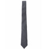 Pierce Cotton Tie - Gray Print