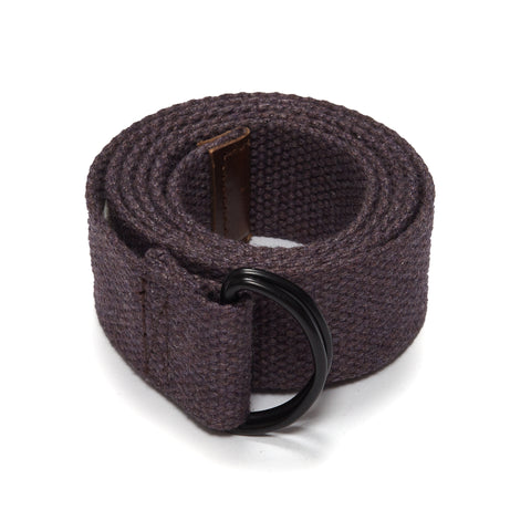Canvas Belt - Brown-Grayers