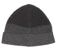 Joseph Color Blocked Beanie - Charcoal / Gray