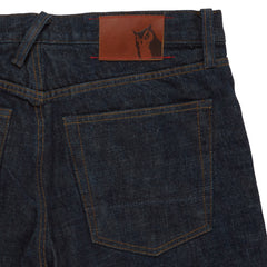 Edward Japanese Selvedge Slim Fit - Rinse Wash-Grayers