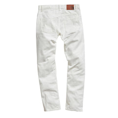 Crawford Japanese Stretch Red Selvedge - White Denim/Vintage Washed