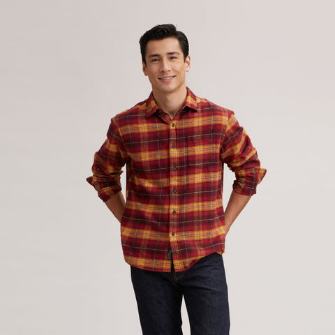 Durango Heritage Flannel - Russet Red Plaid