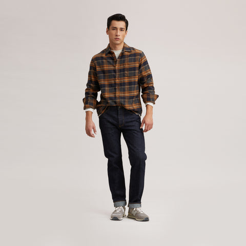 Marvel Jaspe Heritage Flannel - Tobacco Gray