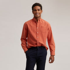 Eagle Creek Vintage Oxford Shirt - Coral
