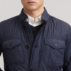 Hamilton Quilted Cruiser - Navy