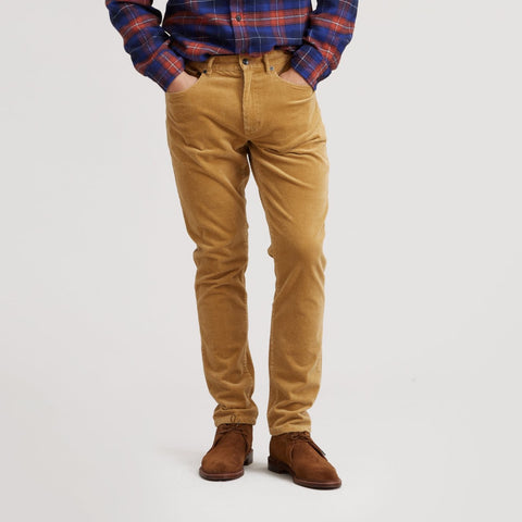 Burlington Corduroy 5 Pockets - Saddle