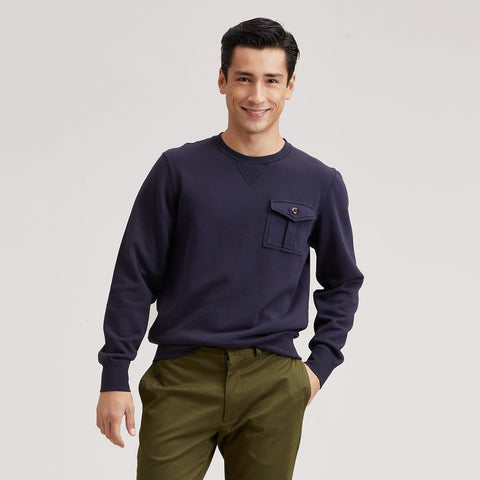 Conner Military Crew - Navy