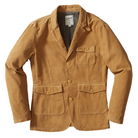 Nolan Marled CPO Shirt Jacket - Hot Sauce