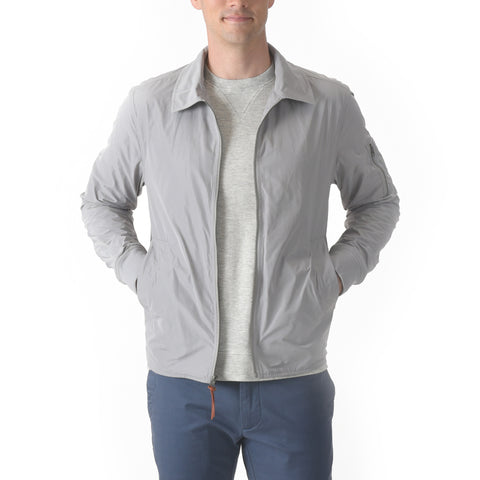 Montreaux Windbreaker Jacket - Ghost Gray