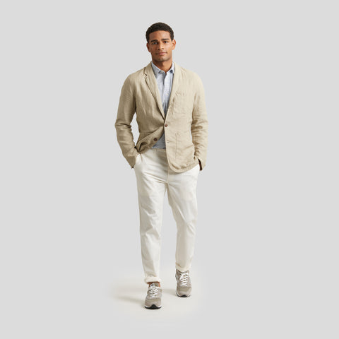 Aventura Washed Linen Blazer - Safari