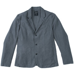 Phelps Heather Stretch Twill Sportcoat - Charcoal Heather-Grayers