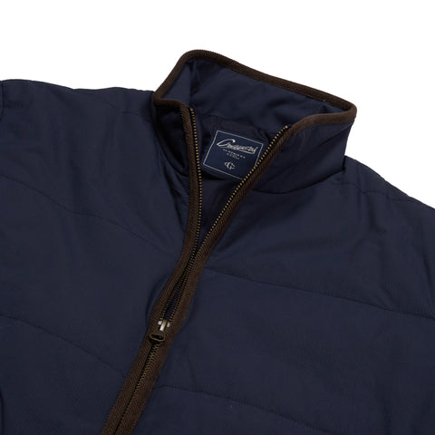Grove Nylon Quilted Jacket - Dark Blue-Grayers