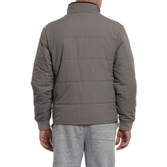 Grove Nylon Quilted Jacket - Gray-Grayers