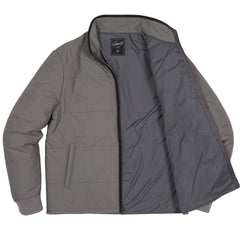 Grove Nylon Quilted Jacket - Gray