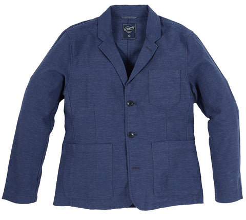 The Poindexter Stretch 3-Button Sport Coat - Navy Heather