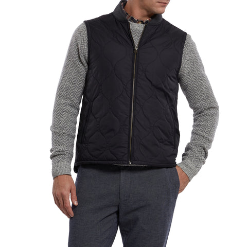 Mackay Quilted Vest - Black