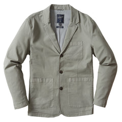 Newport Stretch 3-Button Blazer - Dusty Olive-Grayers