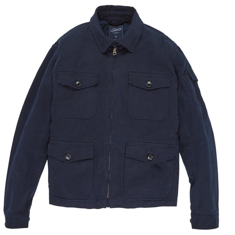 Gilbert Short Jacket - Nordic Navy